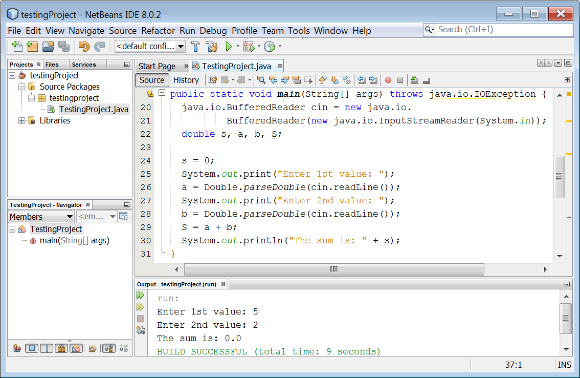 Debugging Java Programs with NetBeans IDE – Aristides S  Bouras